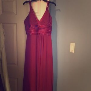 Dresses & Skirts - Beautiful burgundy gown.